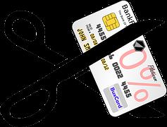 Credit Card Cut w-scissors