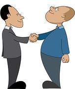 Guys Shaking Hands