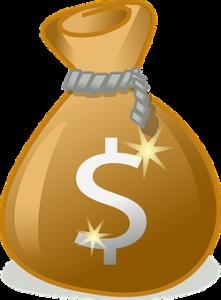 Money Bag w-Dollar Sign