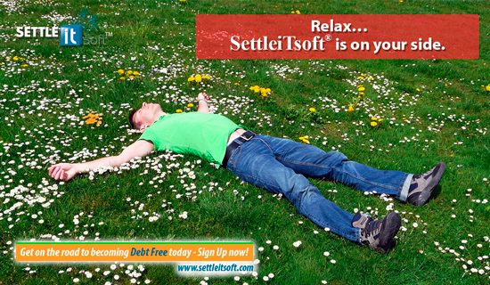 """Credit card debt has adversely affected millions of Americans over the last decade and If you are in financial distress, you are not alone! SettleiTsoft® """"do it yourself"""" debt negotiation software helps debtors to settle unpaid debts and save thousands of dollars, while helping to stop harassing collection calls. Sign Up Now! It's FREE... www.settleitsoft.com"""