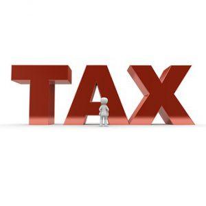 Tax w-little man