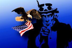 Uncle Sam tax eagle