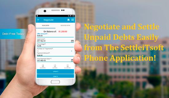 Debt Settlement Goes Digital