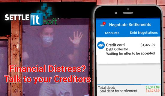 "Credit card debt has adversely affected millions of Americans over the last decade and If you are in financial distress, you are not alone! SettleiTsoft® ""do it yourself"" debt negotiation software helps debtors to settle unpaid debts and save thousands of dollars, while helping to stop harassing collection calls. Sign Up Now! It's FREE... www.settleitsoft.com"